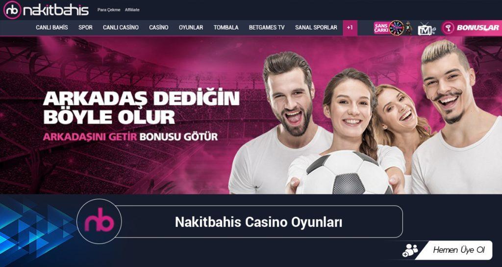 Nakitbahis Casino Oyunları