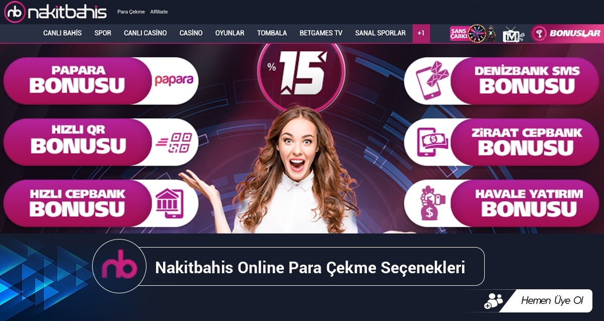 Nakitbahis Online Para Çekme Seçenekleri