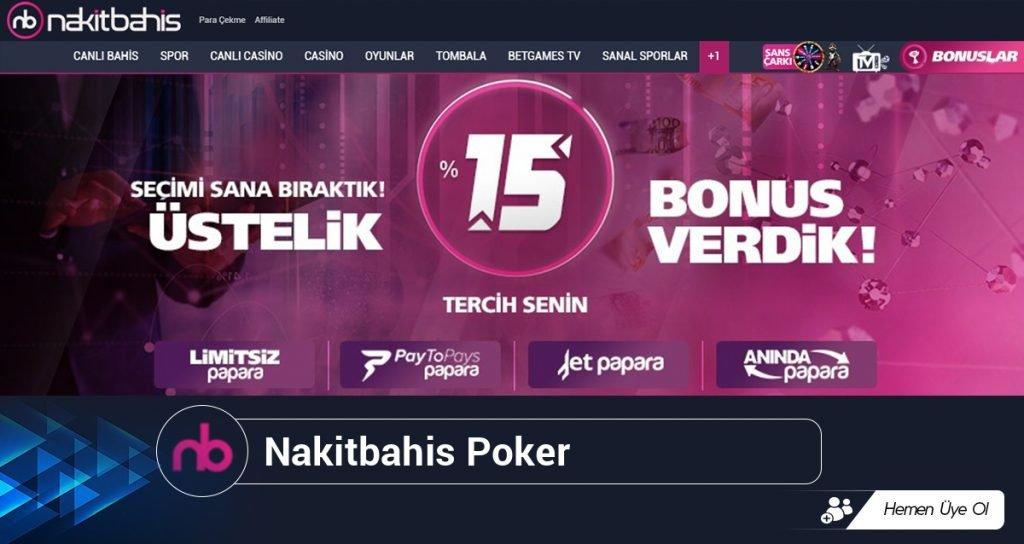 Nakitbahis Poker