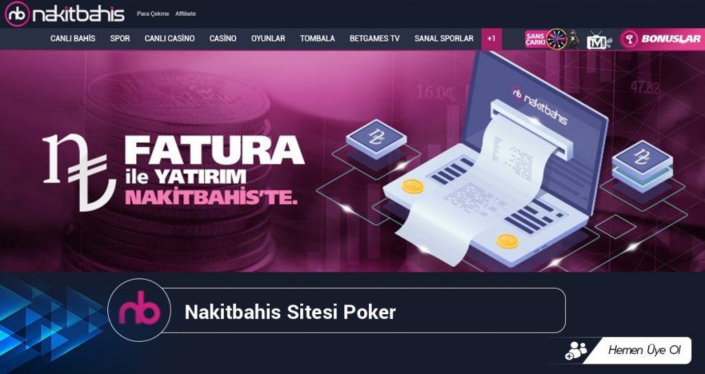 Nakitbahis Sitesi Poker