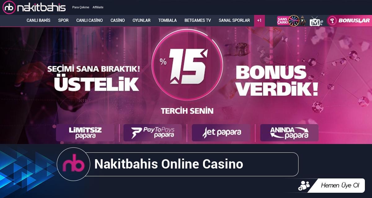 Nakitbahis Online Casino