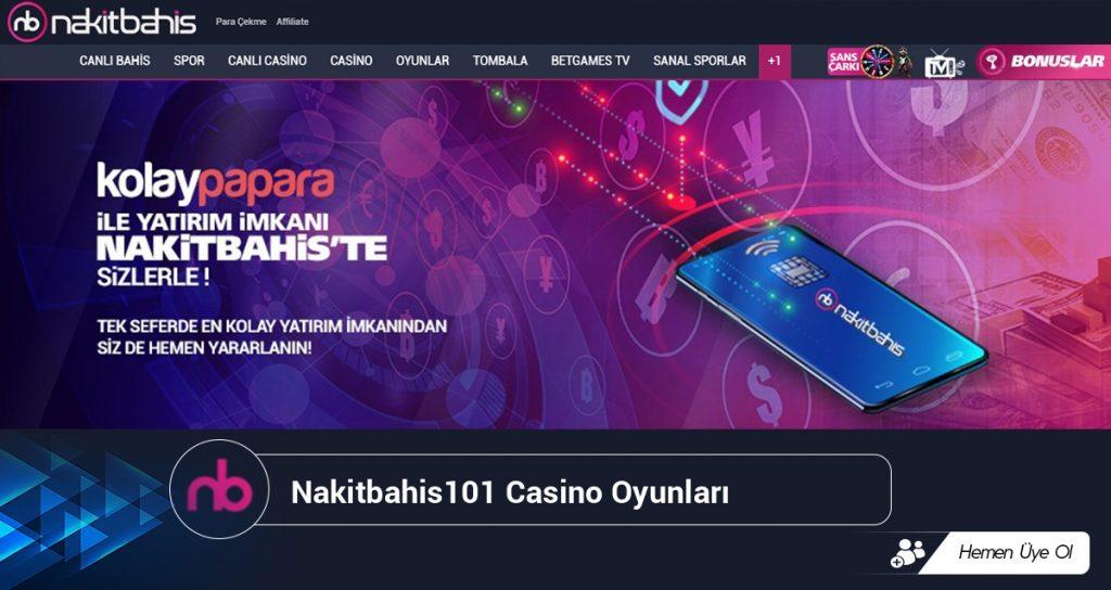 Nakitbahis101 Casino Oyunları