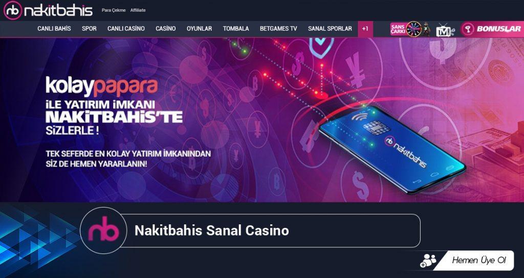 Nakitbahis Sanal Casino
