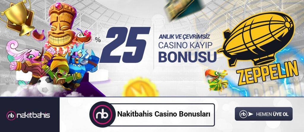 Nakitbahis Casino Bonusları