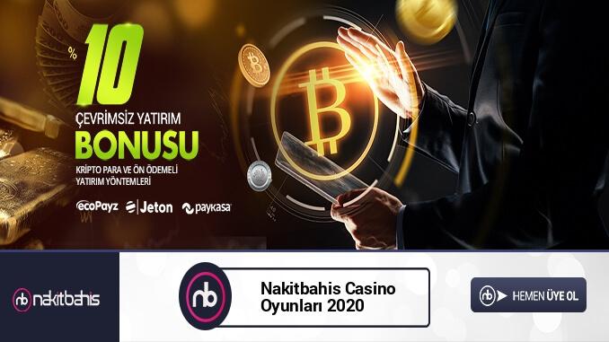 Nakitbahis Casino Oyunları 2020